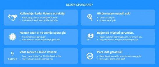 Neden SporCard.com?