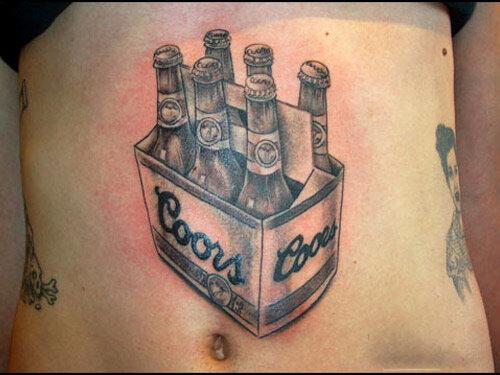 Markanın sahipleri bu dövmeyi görse ne düşünürdü acaba