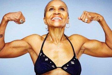 Ernestine Shepherd- Yaşayan En Yaşlı Kadın Vücut Geliştirmeci