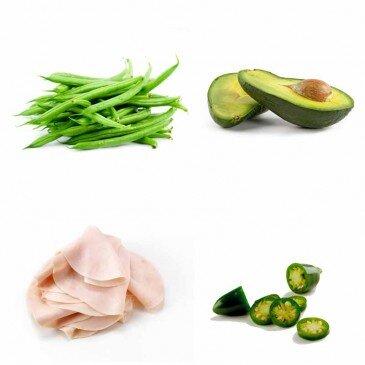 Fasulye - Avokado - Hindi - Meksika biberi