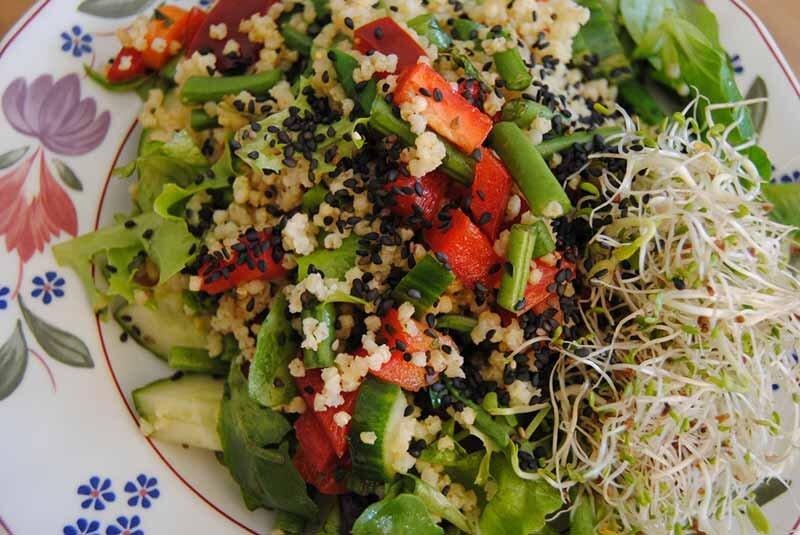 keten-tohumu-salata