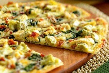 Ispanaklı ve Tavuklu Pizza Tarifi