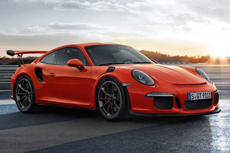 5 - Porsche 911 GT3 RS