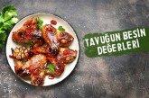 Tavuk Etinin Besin Değerleri ve Kalori Miktarı
