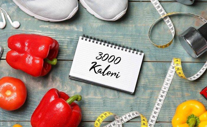 Sporcular İçin 3000 KalorilikBeslenme Programı