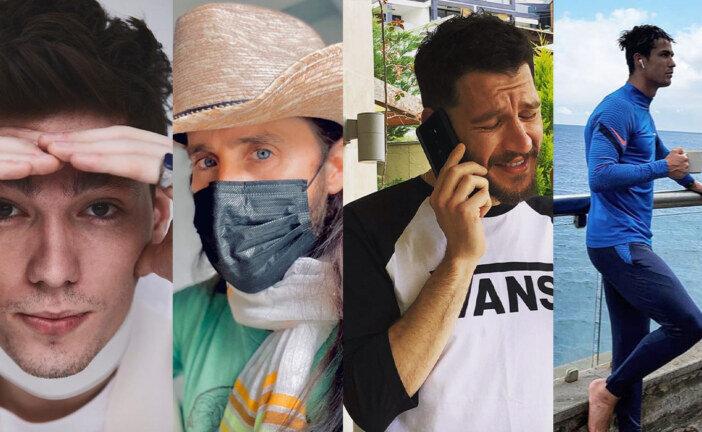 Instagram'ın Evde Şık Erkek Ünlüleri